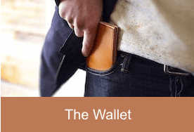 Simple Leather Belt Co. - Home Page Wallet